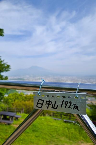 192m日守山!