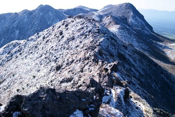 こんな岩山初めてだった。なかなかのスリル。