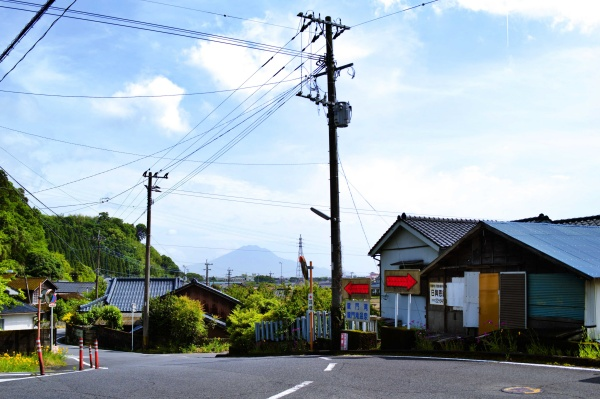 遠くには桜島の山も見えました。