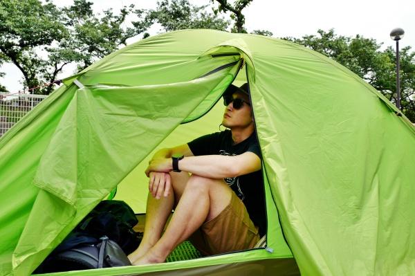 早くテント泊したいおじさん