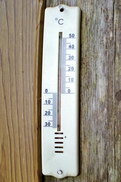 気温は23℃くらい