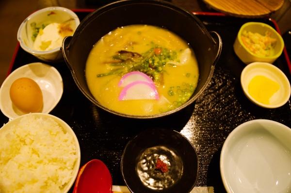 手延べ団子汁定食 1,000円(税込)