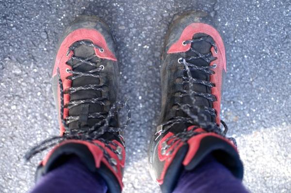 ありがとう登山靴。