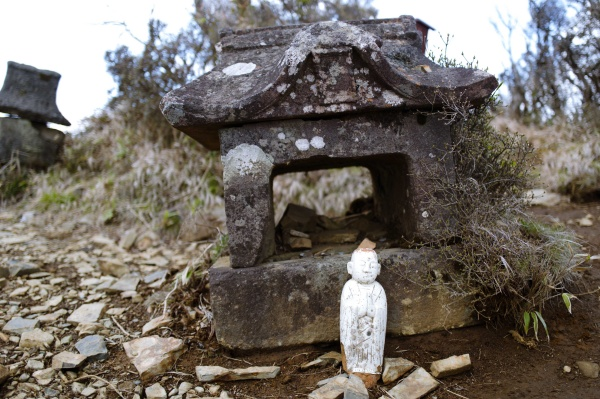 祖母山は神武天皇の祖母、 豊玉姫を山に祀ったことに由来しているそうだ。