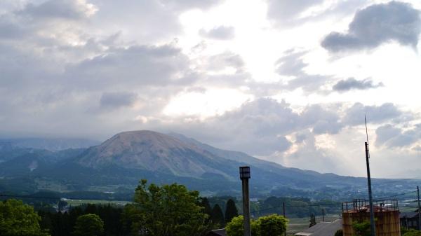 気持ちよく阿蘇山へ出発できました。
