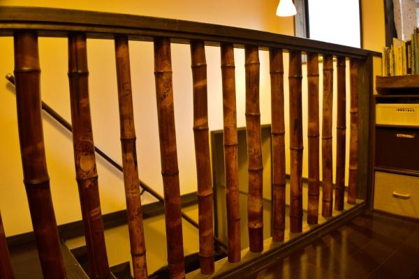 竹の装飾もイイネ。