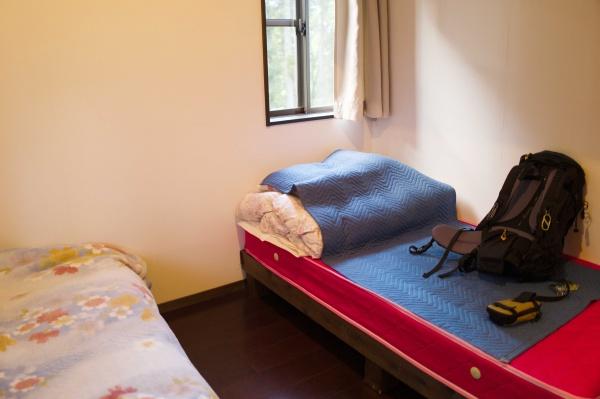 ベッドが2つあります。