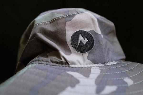 マーモットのロゴ。山に見えるM。