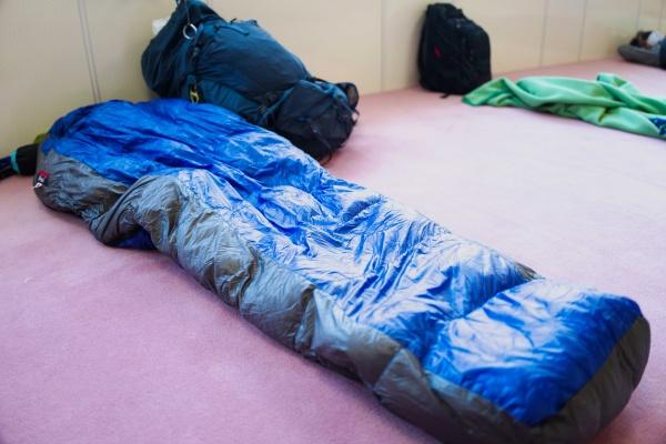 5万円越えのシュラフでリッチに寝る