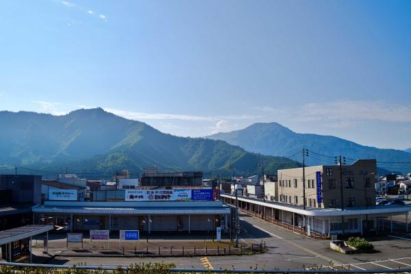 六日町駅からの眺め