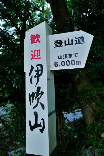 山頂まで6キロ!