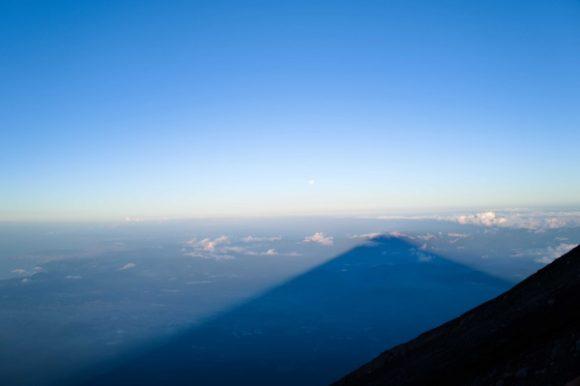 日本一の大きな影。