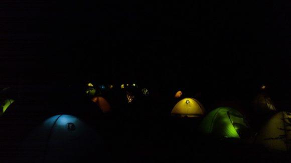 山小屋泊も良いけどテント泊もイイネ。