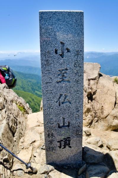 ラストピーク・子至仏山山頂!