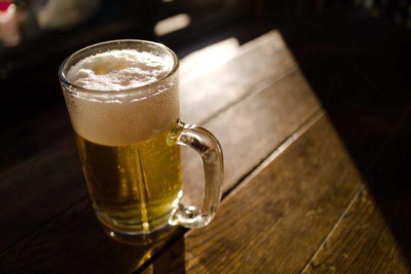 山小屋のビールはいいぞ~。