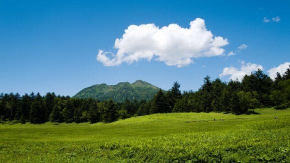 立派な風格の燧ヶ岳