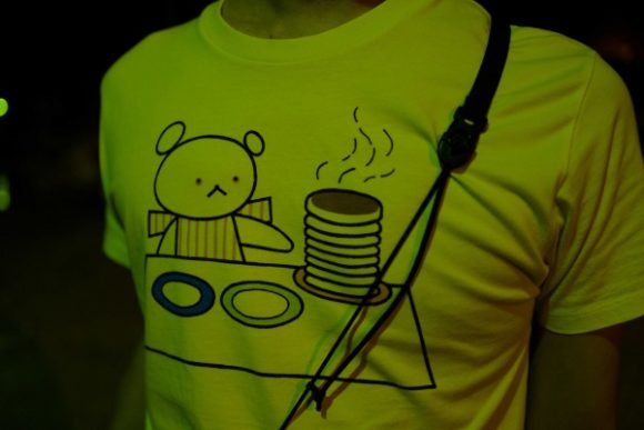 パンケーキのTシャツ・・・
