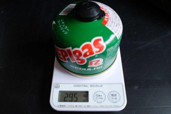 OD缶は295g