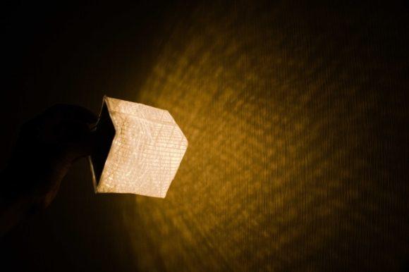 心が温まるランタンの光