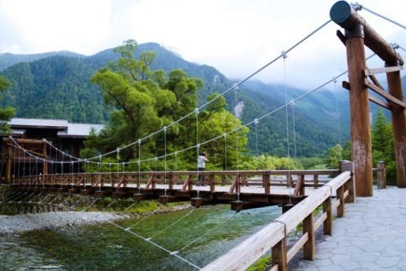 これが有名な河童橋かぁ。