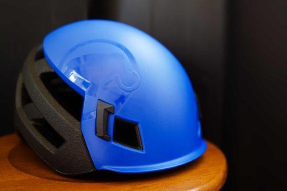 前々日に購入したマムートヘルメット