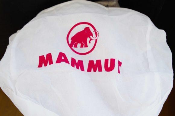 マムートヘルメットの袋。