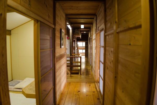 きれいな2階の廊下