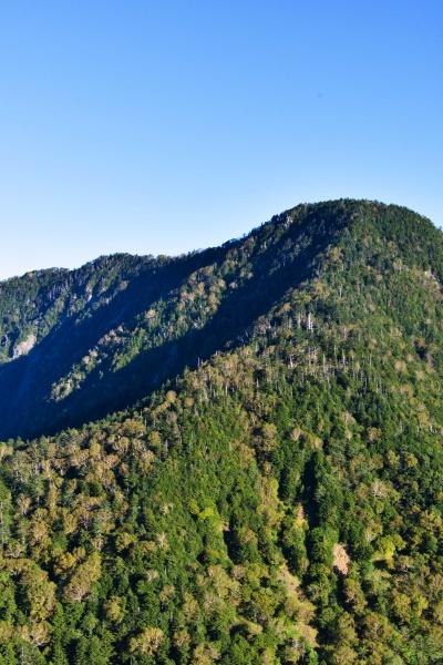 きれいな山です。皇海山