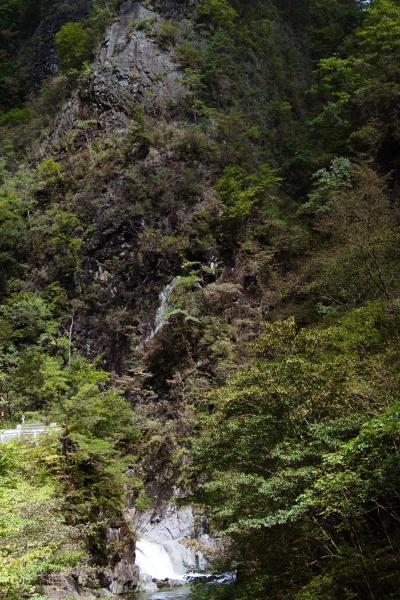 日本画みたいな渓谷