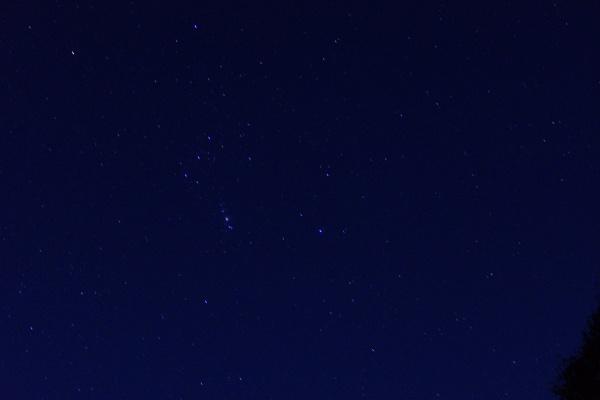 星もきれいに見えた秋でした。