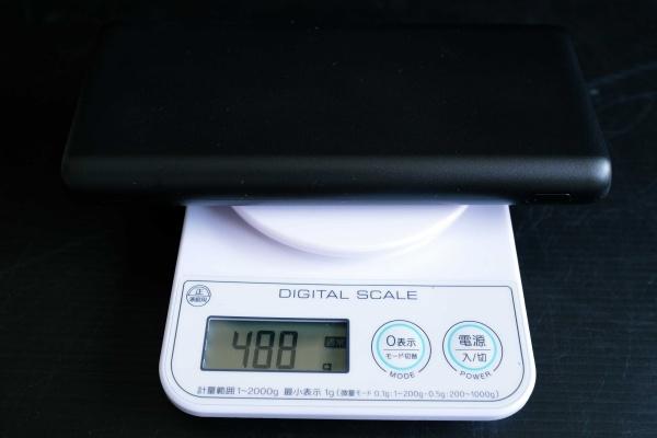 焦るくらい重い488g