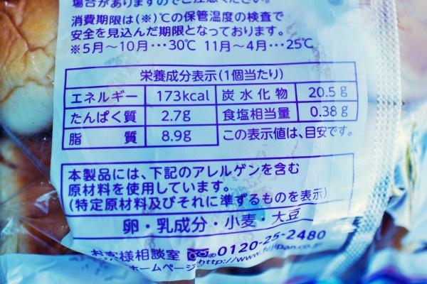 パン1個173lcal