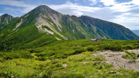 鷲羽岳の麓にある三俣山荘
