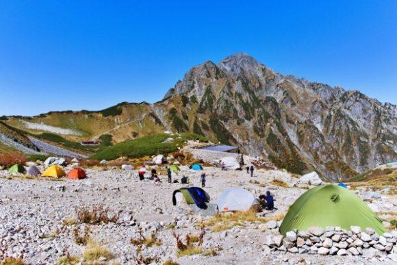 剣沢キャンプ場で1泊するのもありだったな。温泉ないけど・・・