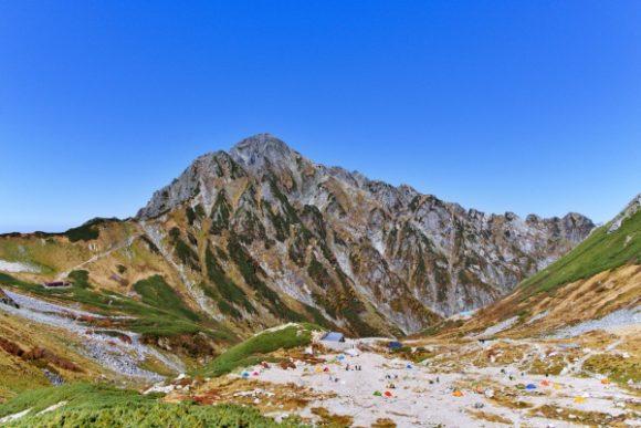 さっきまで剱岳の山頂にいたんだよなぁ。