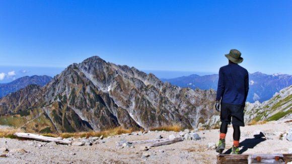 カッコいい剱岳とカッコいい私。