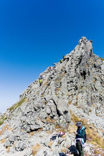 うひょ!ってなる山頂。登るしかない。